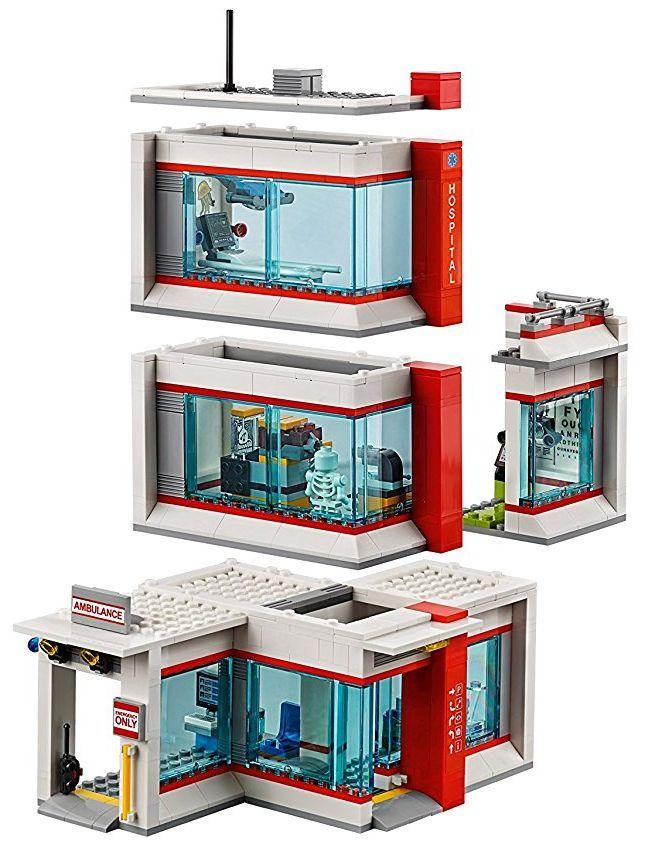 Конструктор Lego City - Болница (60204) - 5