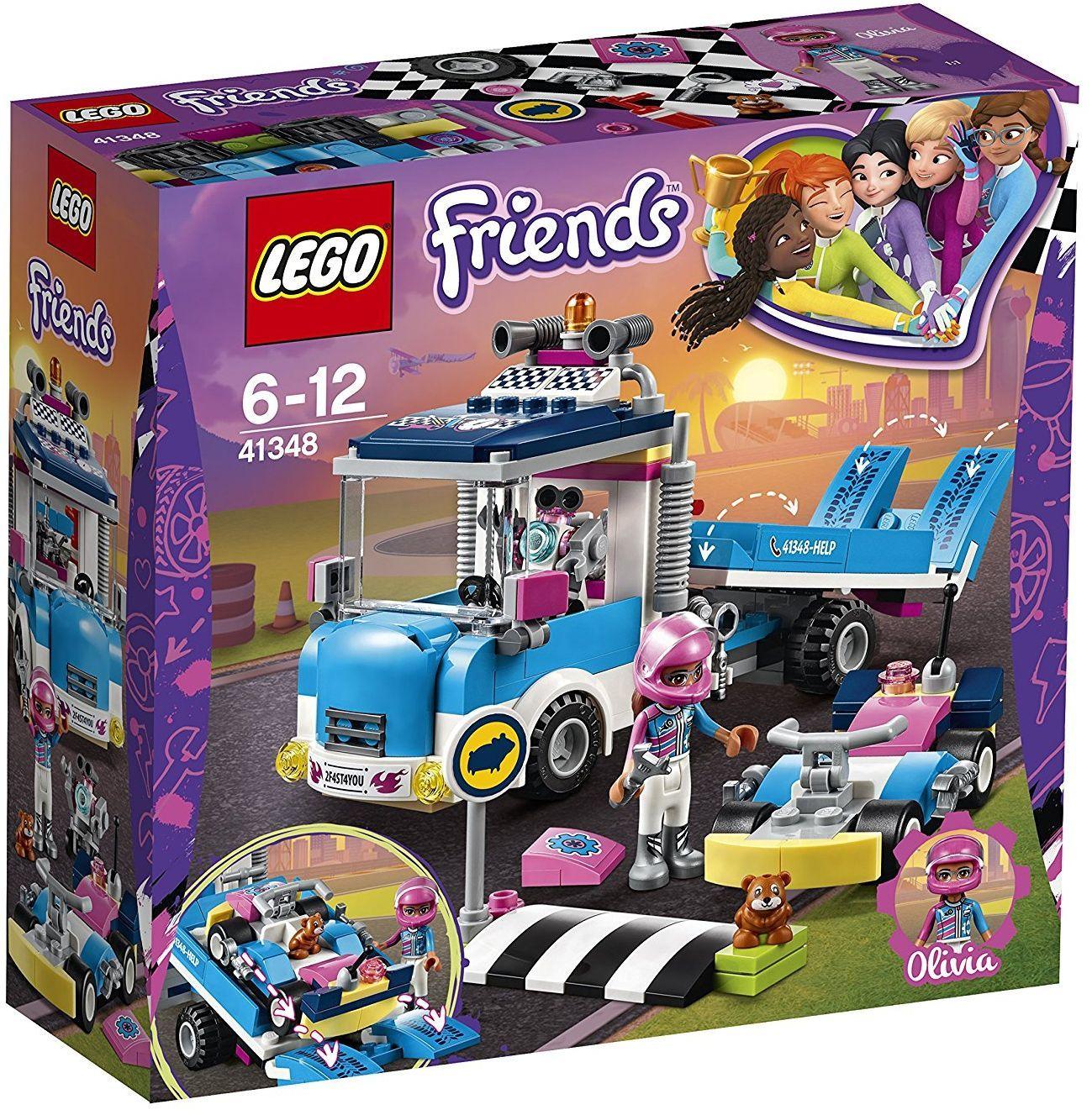 Конструктор Lego Friends - Камион за обслужване (41348) - 1