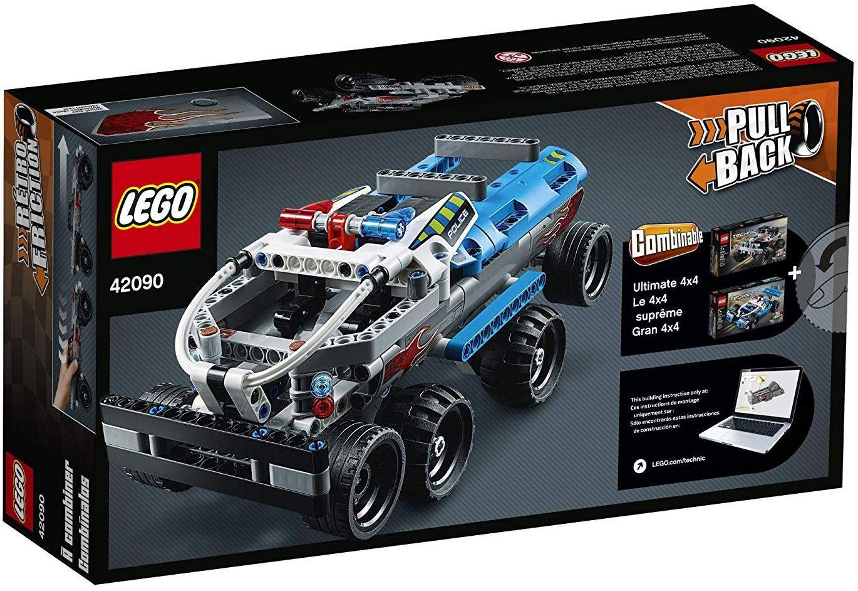 Конструктор Lego Technic - Камион за бягство (42090) - 4