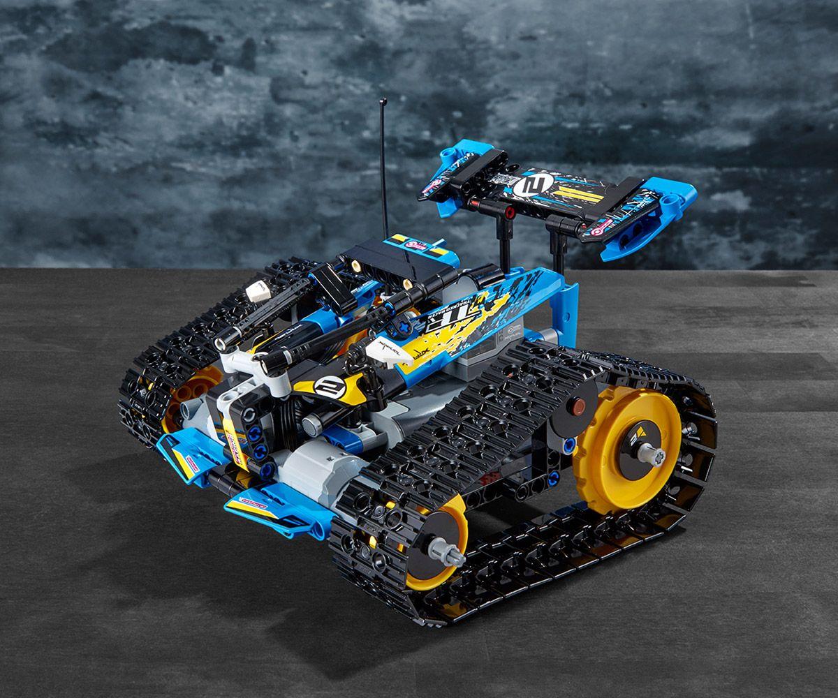 Конструктор Lego Technic - Каскадьорска кола, с дистанционно управление (42095) - 6