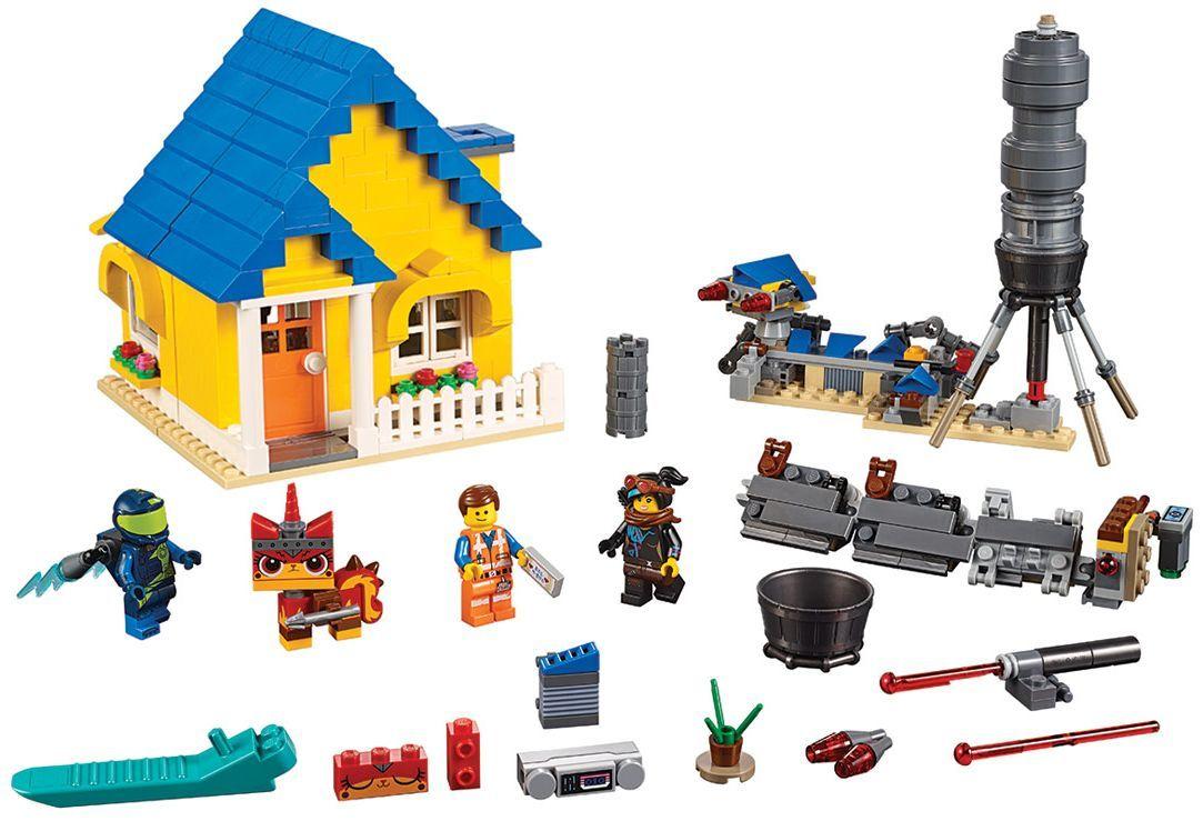 Конструктор Lego Movie 2 - Къща-мечта/ракета за бягство на Емет (70831) - 6