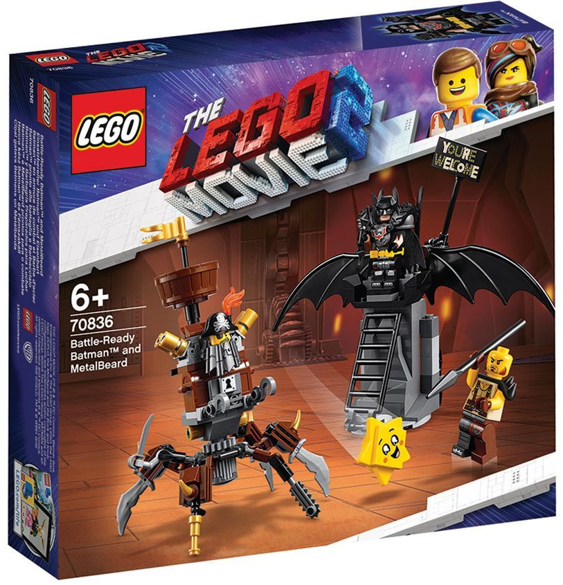 Конструктор Lego Movie 2 - Батман, готов за битка, и Железният (70836) - 7