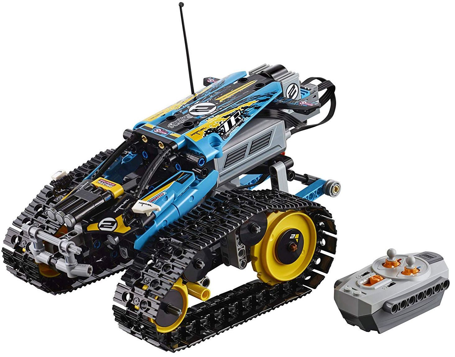 Конструктор Lego Technic - Каскадьорска кола, с дистанционно управление (42095) - 4
