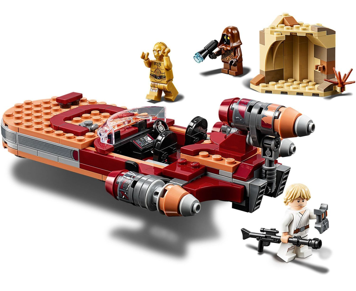 Конструктор Lego Star Wars - Luke Skywalker's Landspeeder (75271) - 4