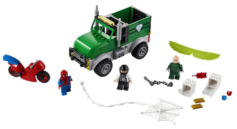 Конструктор Lego Marvel Super Heroes - Обир на камион с Vulture (76147) - 4