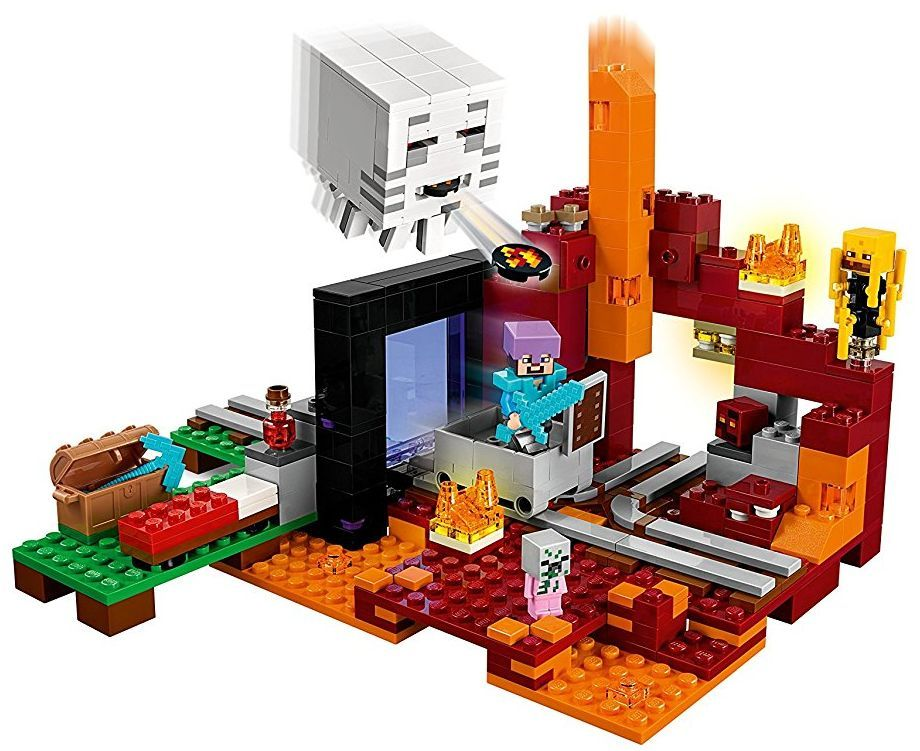 Конструктор Lego Minecraft - Портал към Ада (21143) - 7