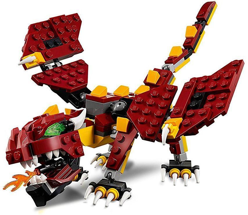 Конструктор Lego Creator - Митични същества (31073) - 6