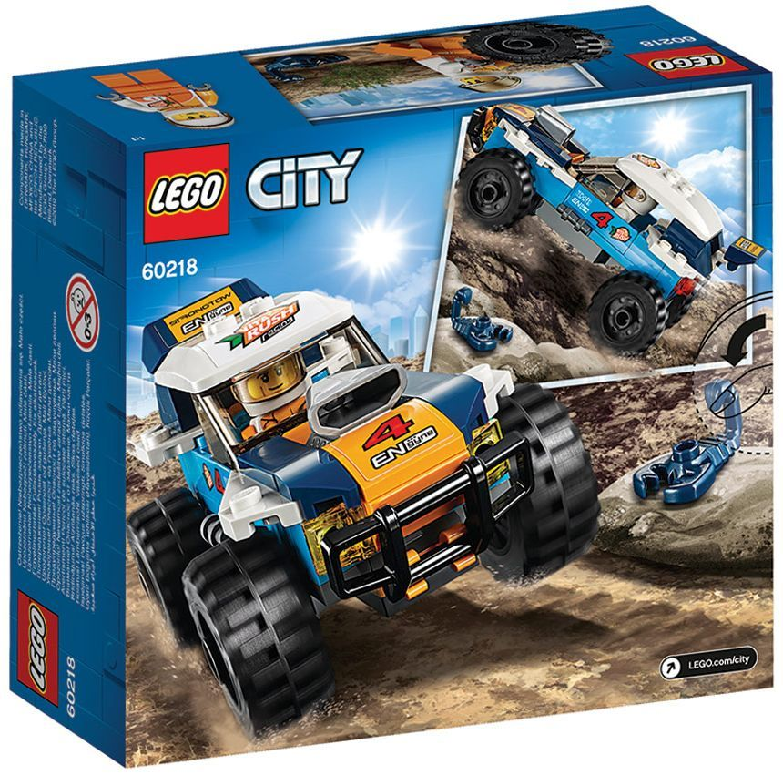 Конструктор Lego City - Кола за пустинно рали (60218) - 5
