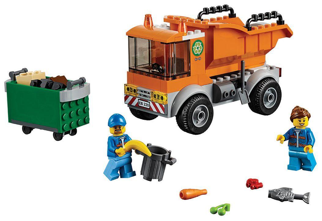 Конструктор Lego City - Боклукчийски камион (60220) - 8