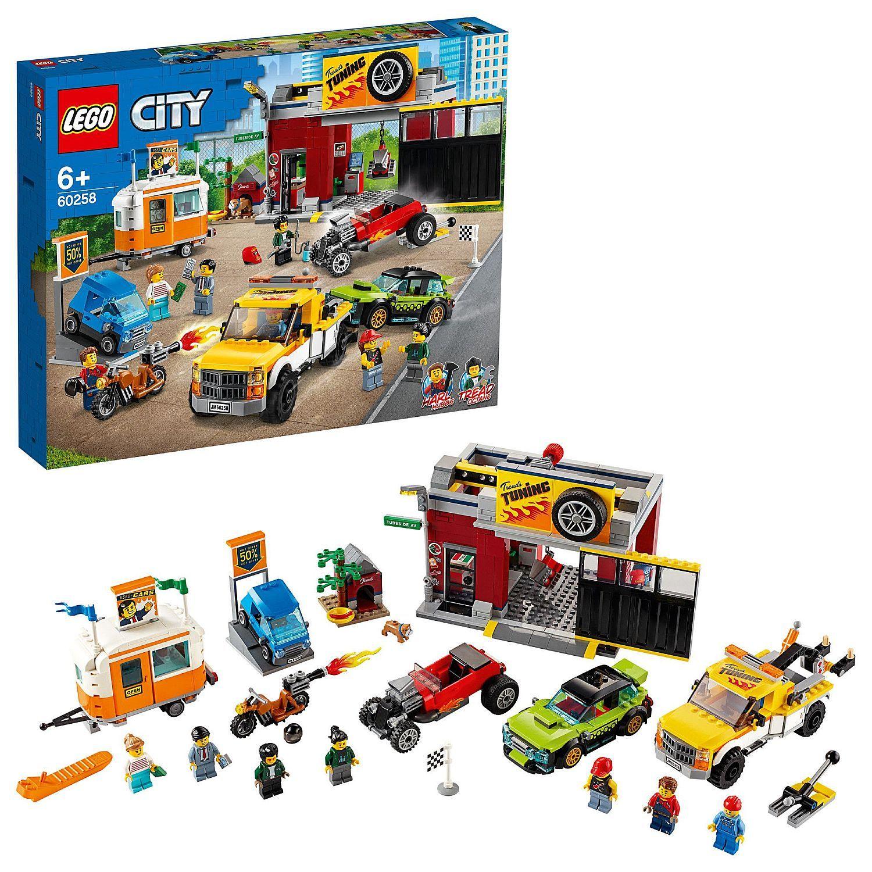 Конструктор Lego City Nitro Wheels - Сервиз за тунинг (60258) - 3