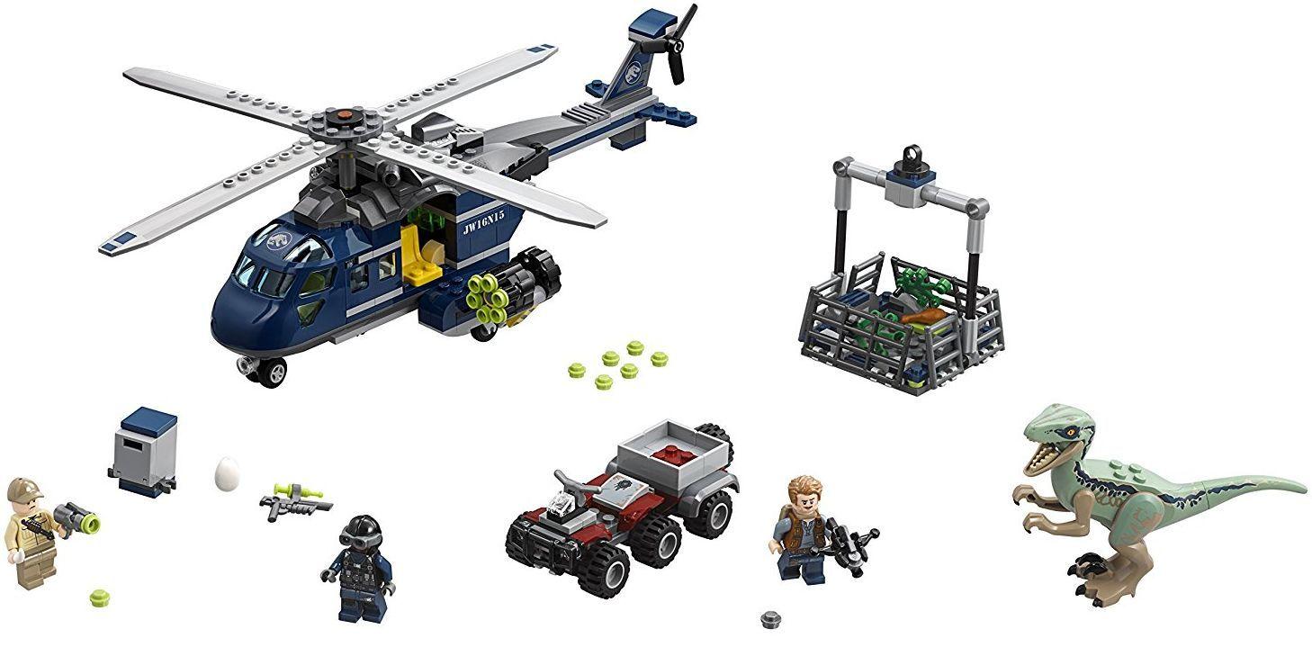 Конструктор Lego Jurassic World - Преследване с хеликоптер (75928) - 6