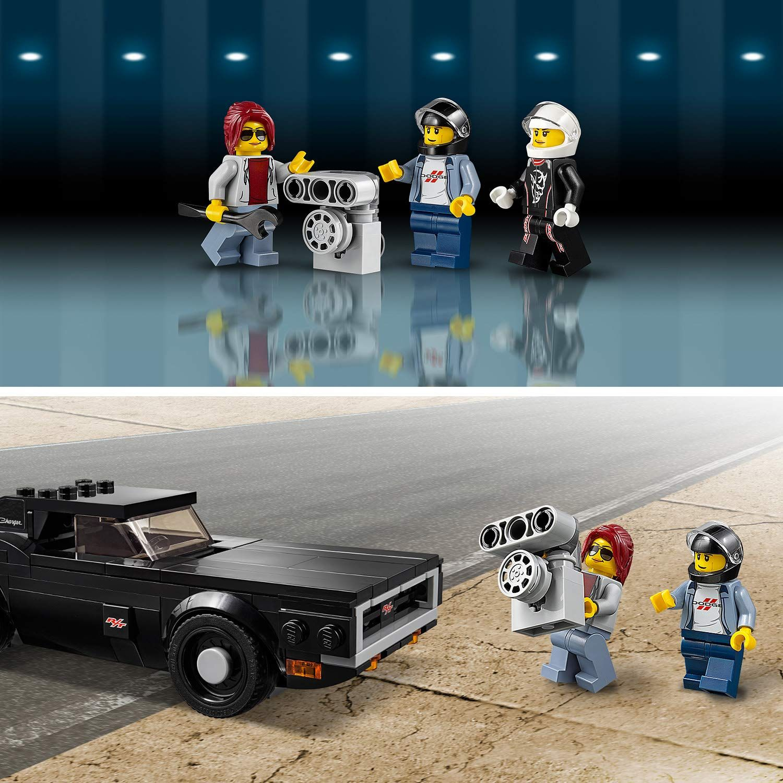 Конструктор Lego Speed Champions - 2018 Dodge Challenger SRT Demon и 1970 Dodge Charger R/T (75893) - 8