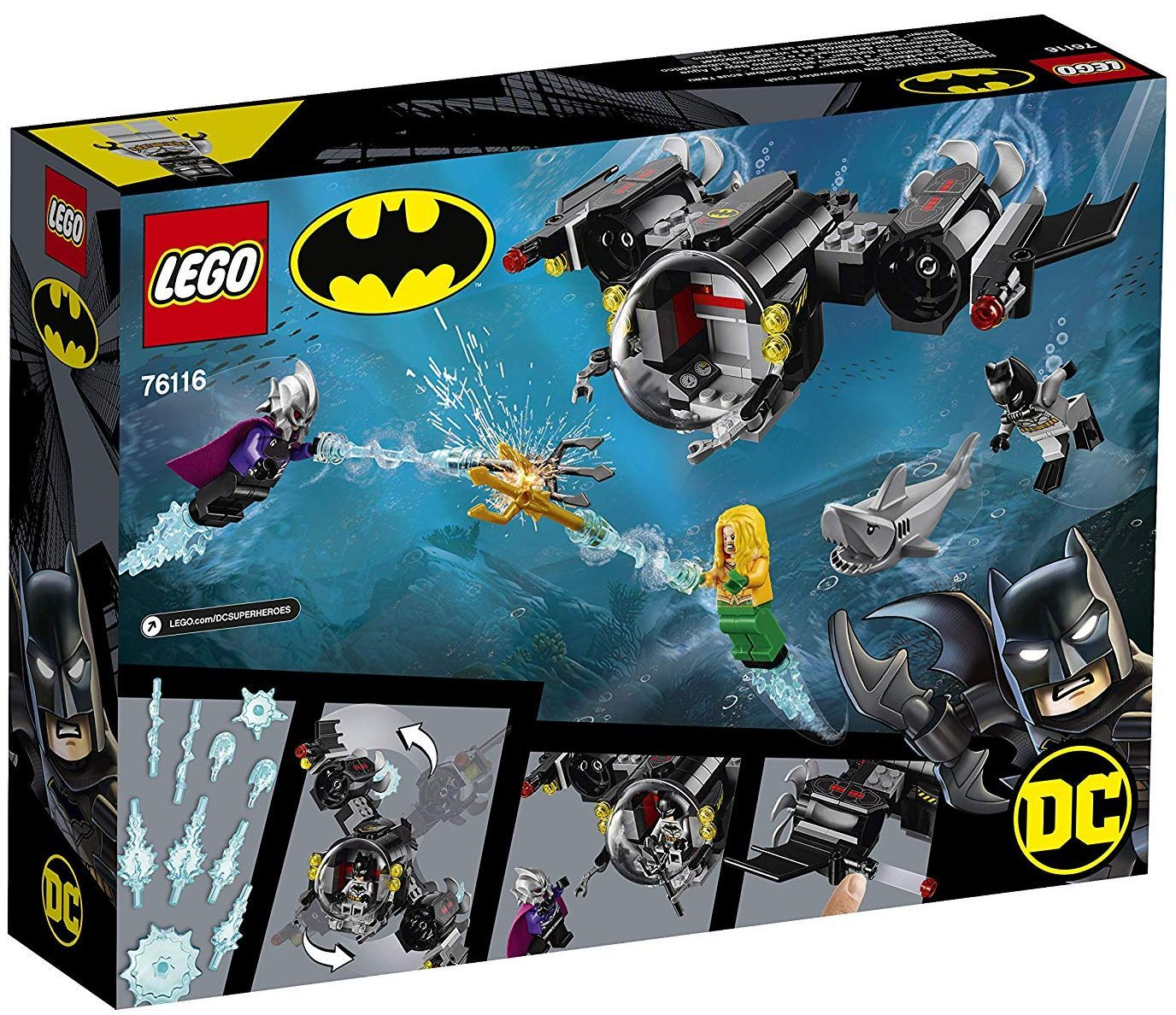 Конструктор Lego DC Super Heroes - Batman Batsub and the Underwater Clash (76116) - 6