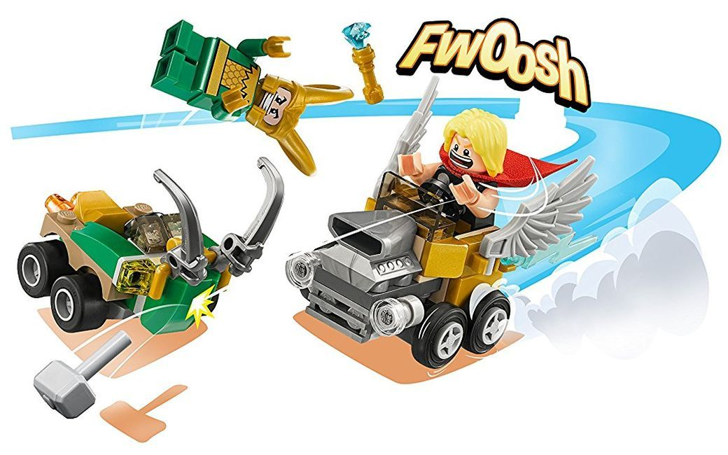 Конструктор Lego Super Heroes - Mighty Micros: Thor vs. Loki (76091) - 6
