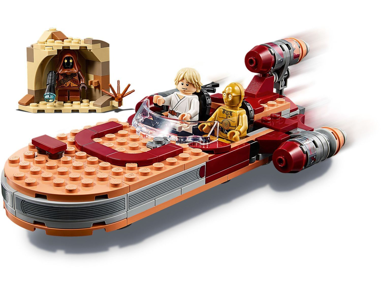 Конструктор Lego Star Wars - Luke Skywalker's Landspeeder (75271) - 5