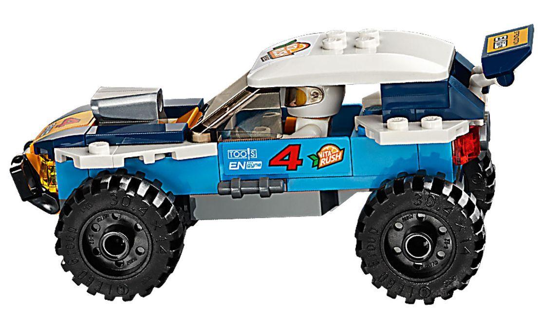 Конструктор Lego City - Кола за пустинно рали (60218) - 8