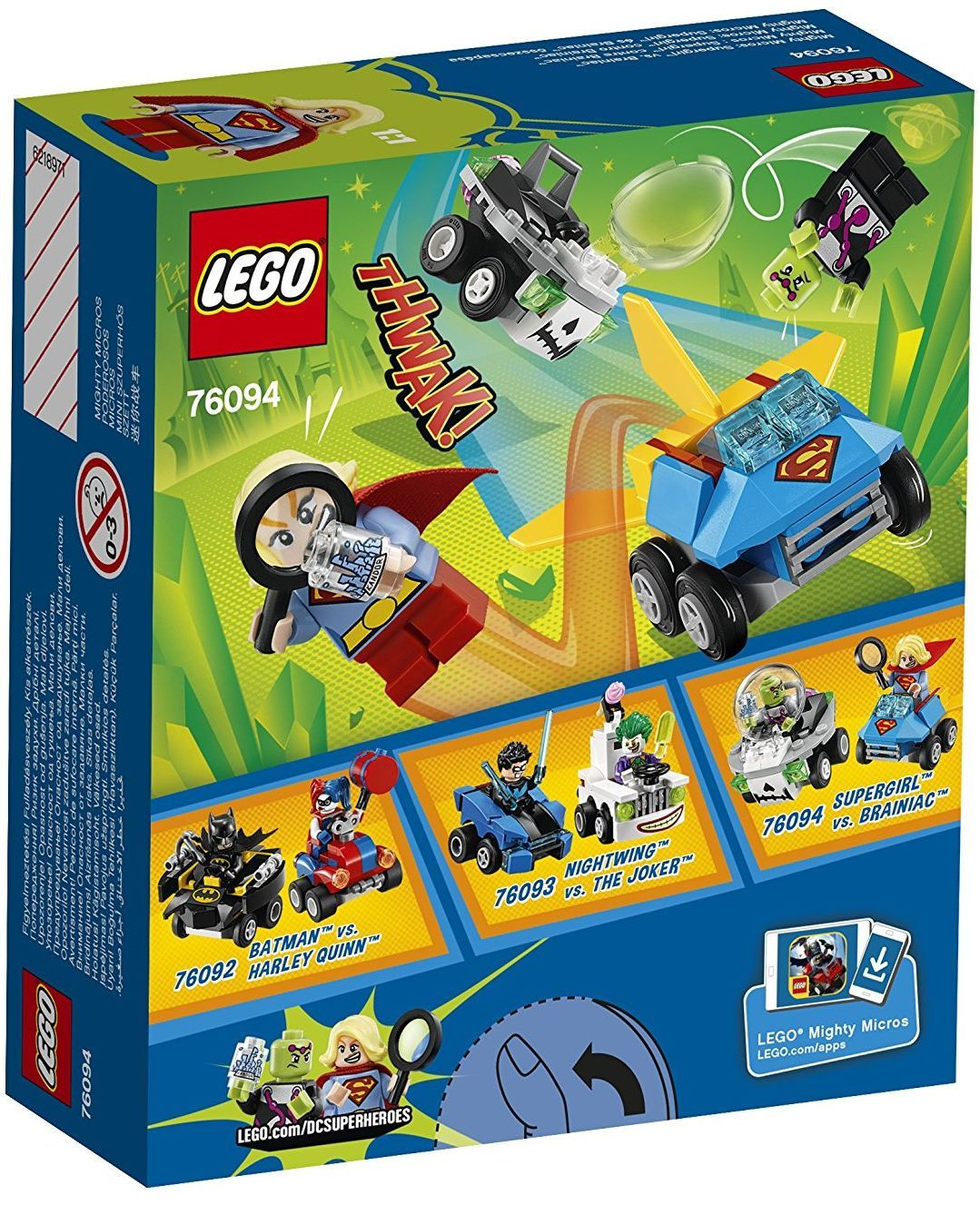 Конструктор Lego Super Heroes - Mighty Micros: Supergirl™ vs. Brainiac™ (76094) - 5