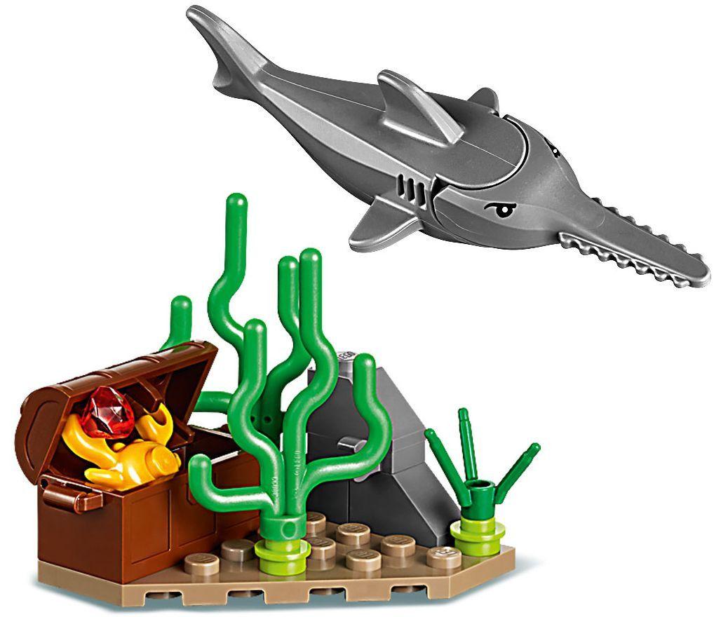 Конструктор Lego City - Яхта за гмуркане (60221) - 10