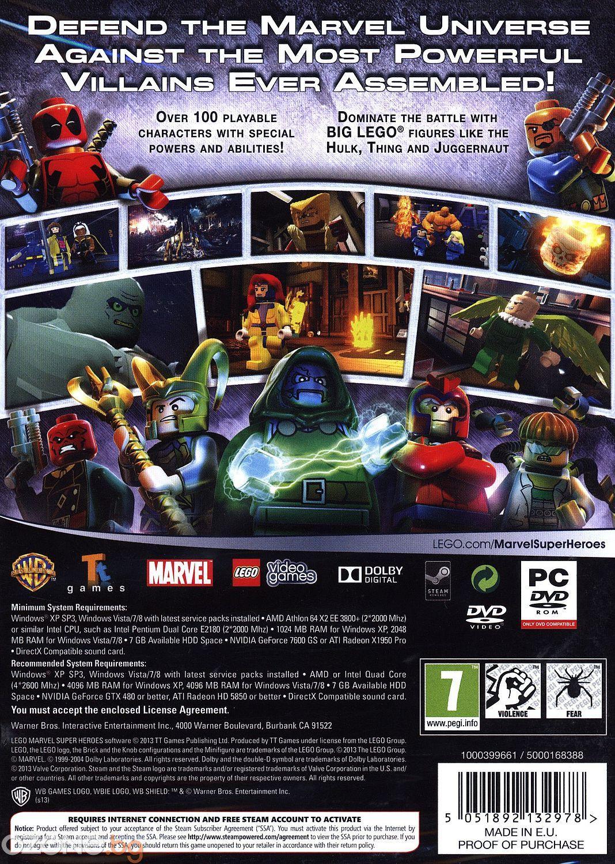 LEGO Marvel Super Heroes (PC) - 4