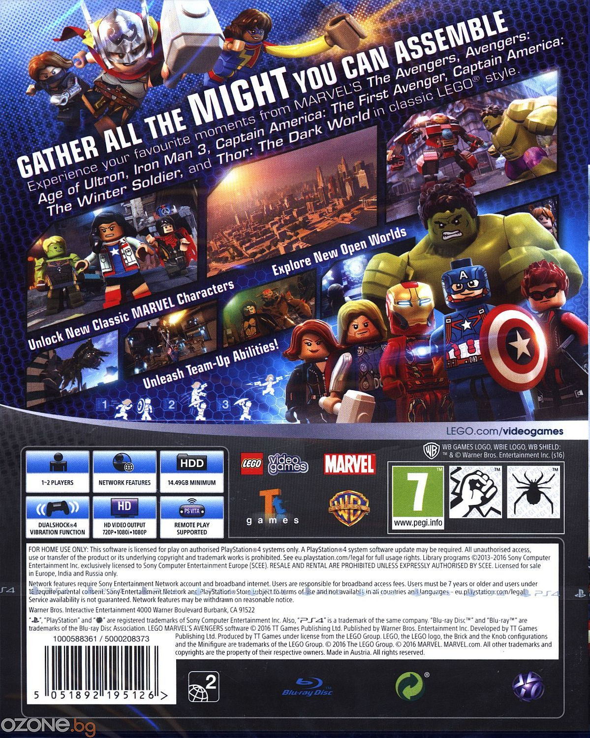 LEGO Marvel's Avengers (PS4) - 9