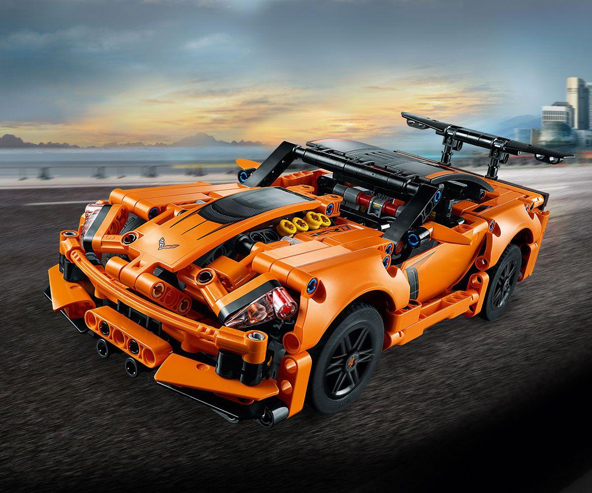 Конструктор Lego Technic - Chevrolet Corvette ZR1 (42093) - 4
