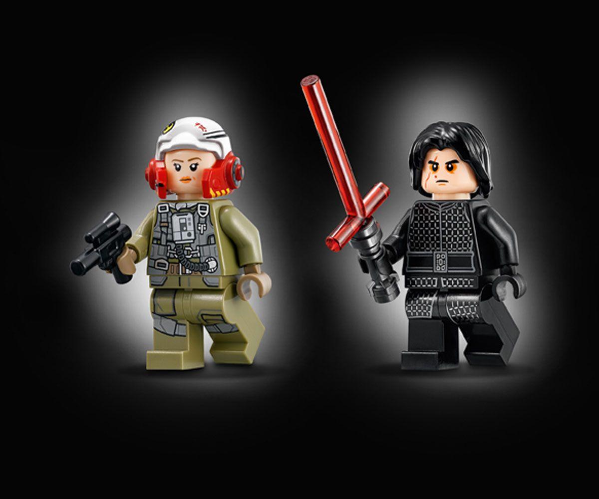 Конструктор Lego Star Wars - A-wing™ vs. TIE Silencer™ Microfighters (75196) - 3