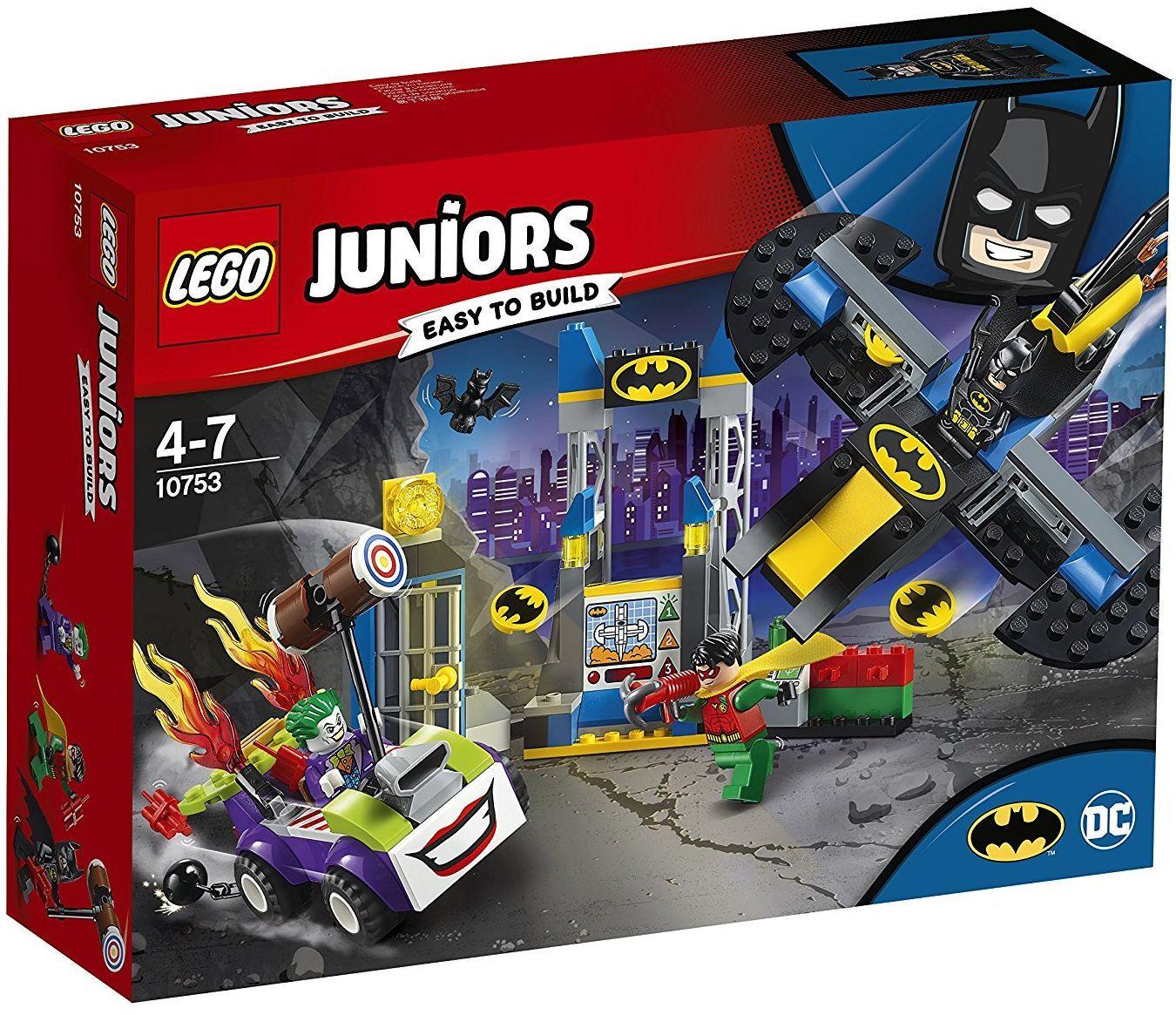 Конструктор Lego Juniors - Joker™ напада пещерата на прилепа (10753) - 1