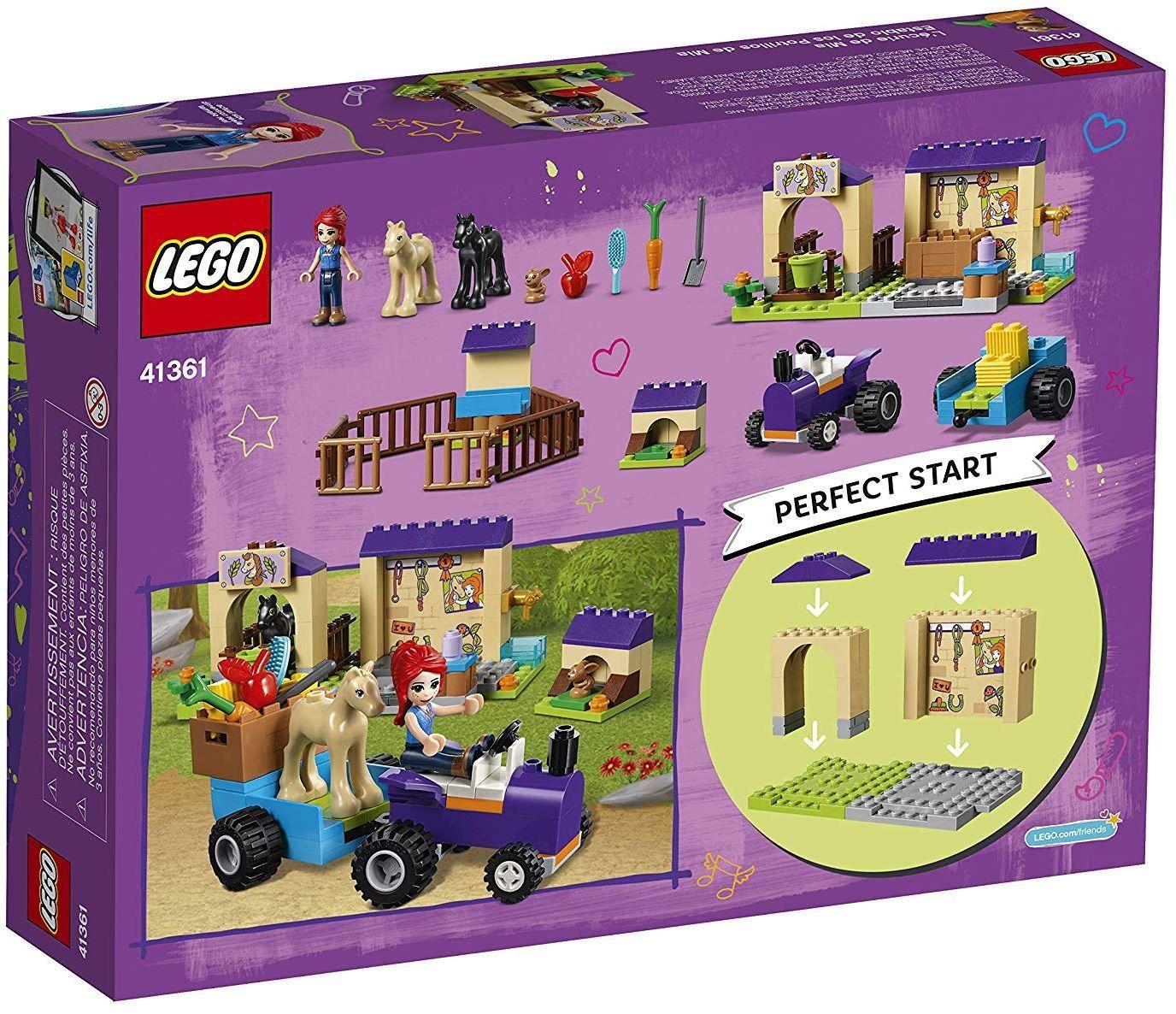 Конструктор Lego Friends - Конюшнята на Mia (41361) - 4