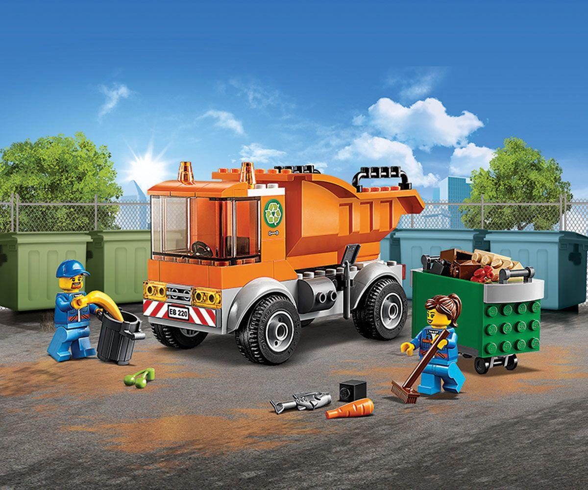 Конструктор Lego City - Боклукчийски камион (60220) - 7