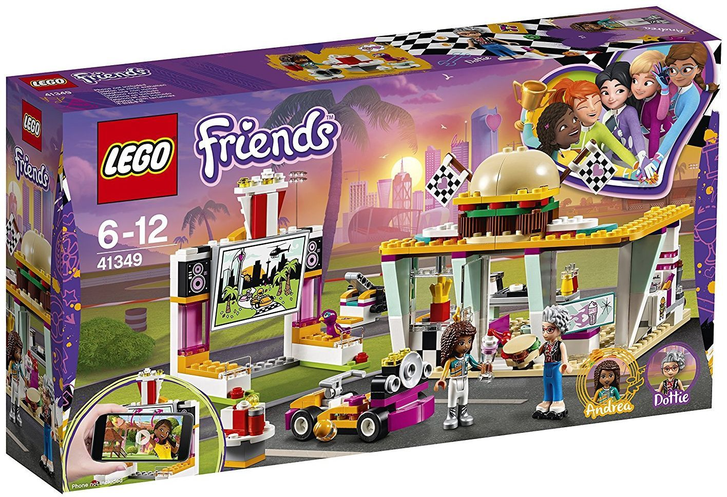 Конструктор Lego Friends - Дрифт вечеря (41349) - 1