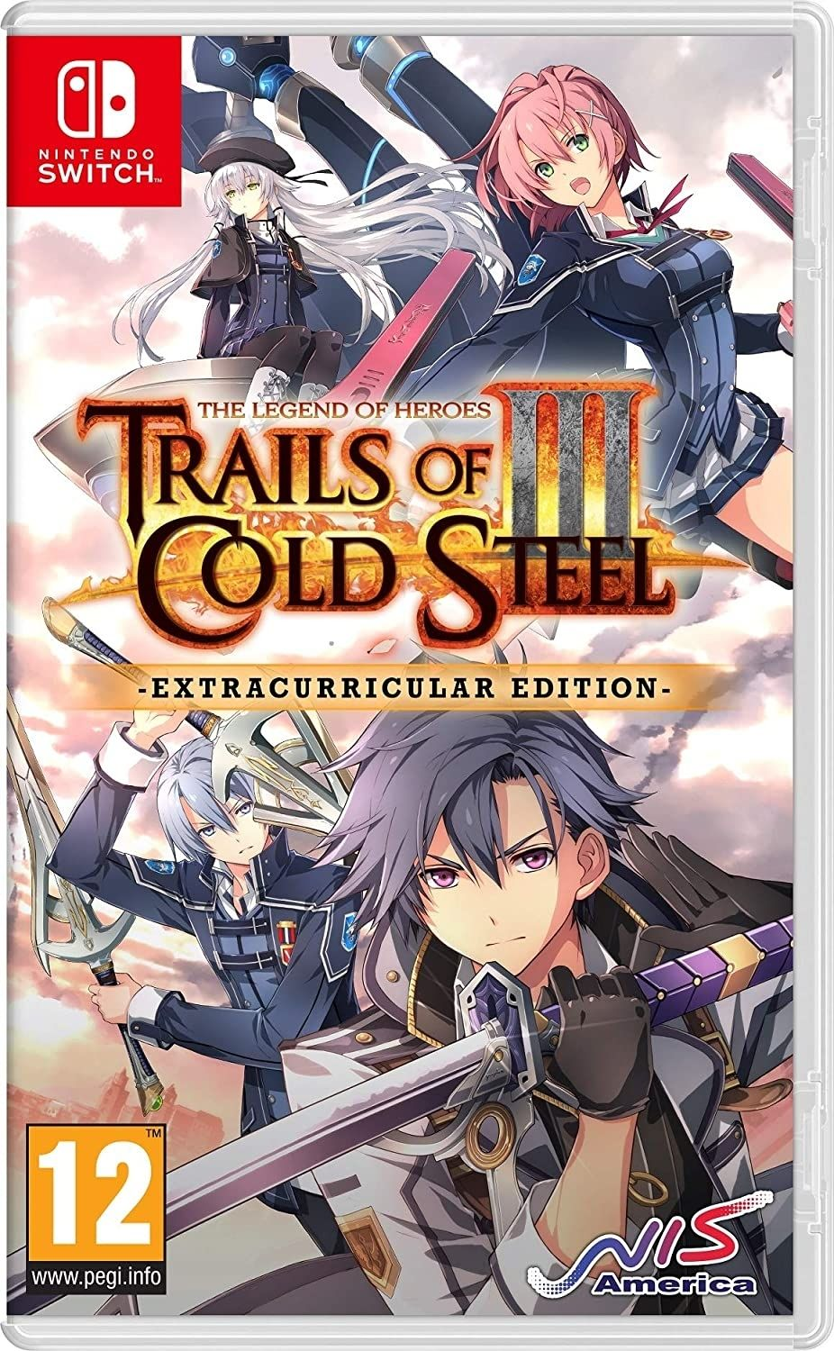 The Legend of Heroes: Trails of Cold Steel III - Extracurricular Edition (Nintendo Switch) - 1