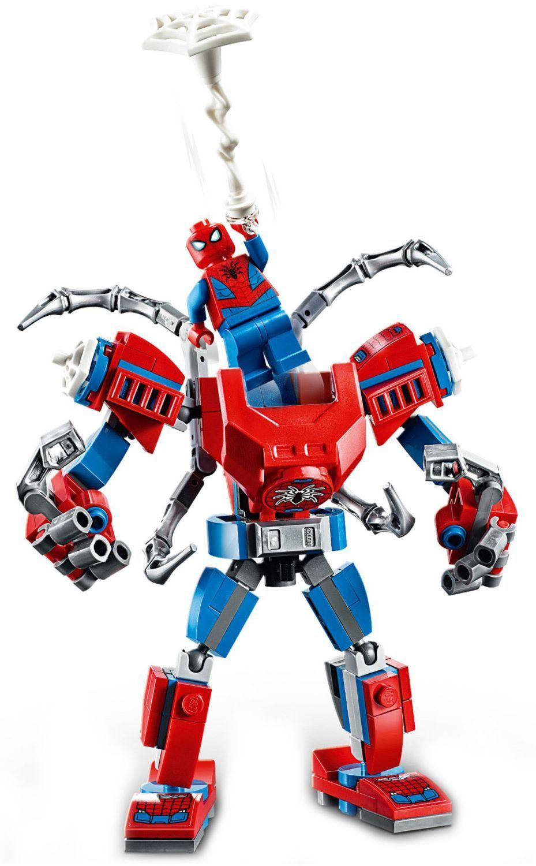Конструктор Lego Marvel Super Heroes - Spider-Man Mech (76146) - 4