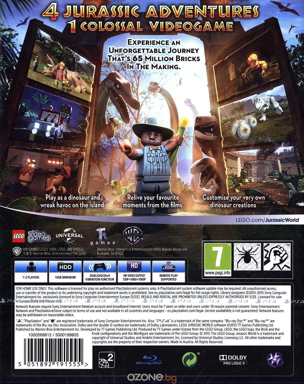 LEGO Jurassic World (PS4) - 8