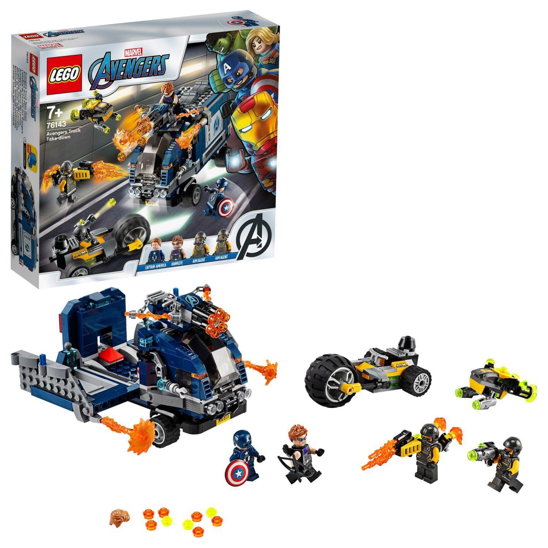 Конструктор Lego Marvel Super Heroes - Avengers: схватка с камион (76143) - 3