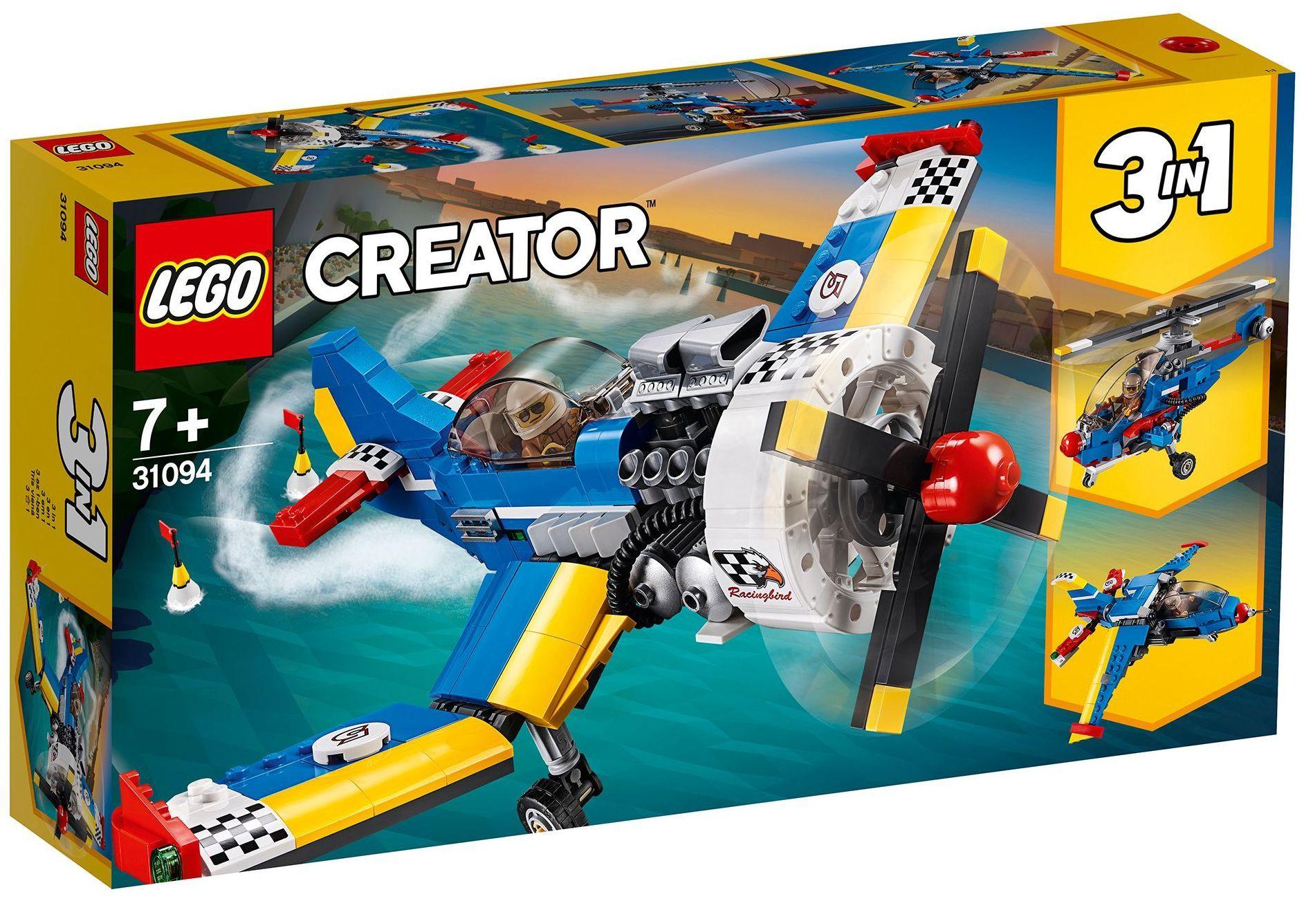 Конструктор 3 в 1 Lego Creator - Състезателен самолет (31094) - 7