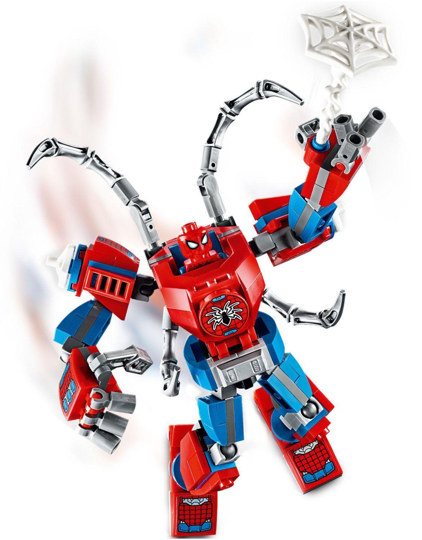 Конструктор Lego Marvel Super Heroes - Spider-Man Mech (76146) - 5