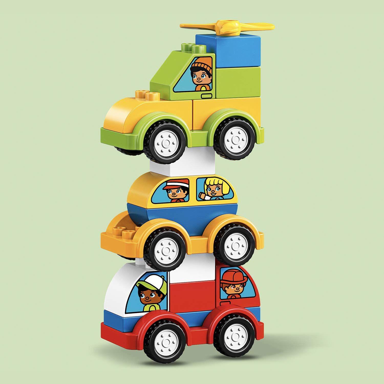 Конструктор Lego Duplo - Моите първи автомобилни творения (10886) - 5