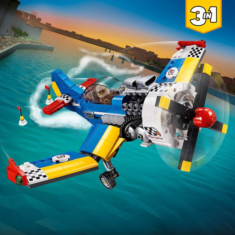 Конструктор 3 в 1 Lego Creator - Състезателен самолет (31094) - 5