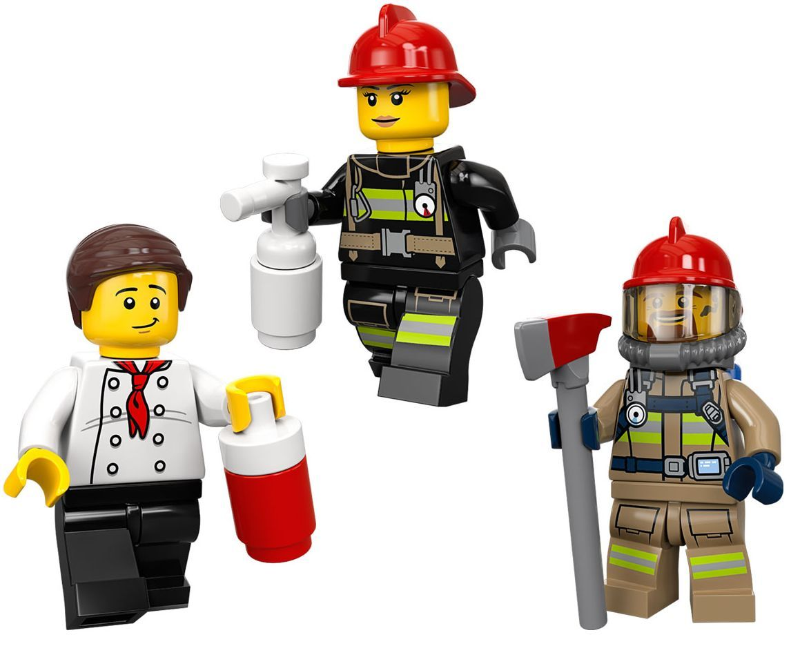 Конструктор Lego City - Спасителна акция от пожар в бургер бар (60214) - 9