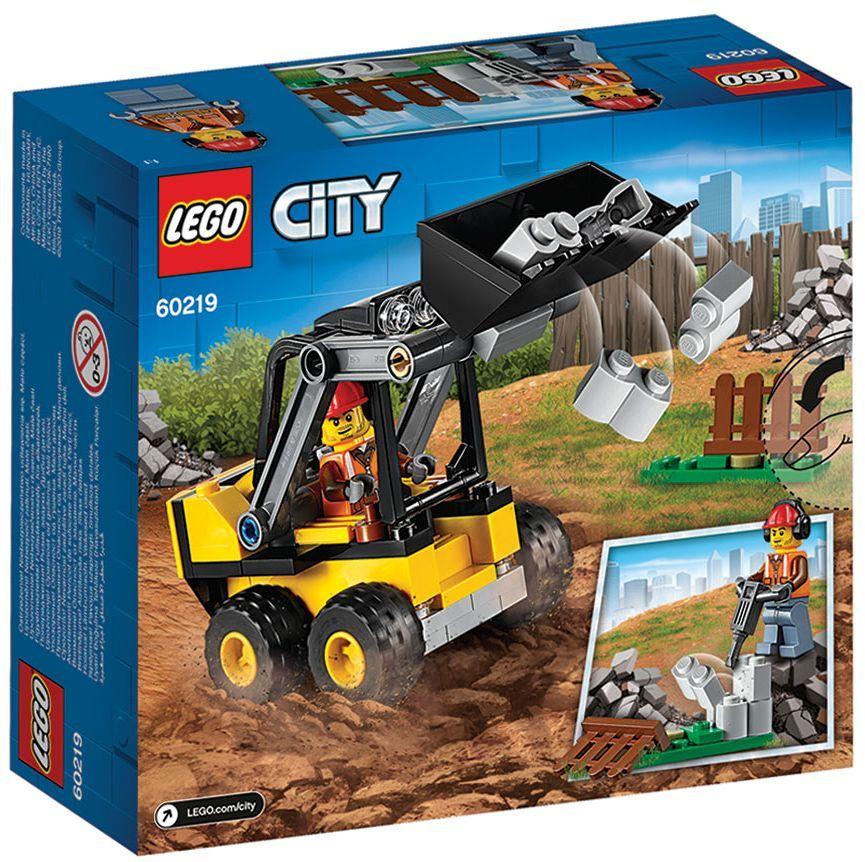 Конструктор Lego City - Строителен товарач (60219) - 6