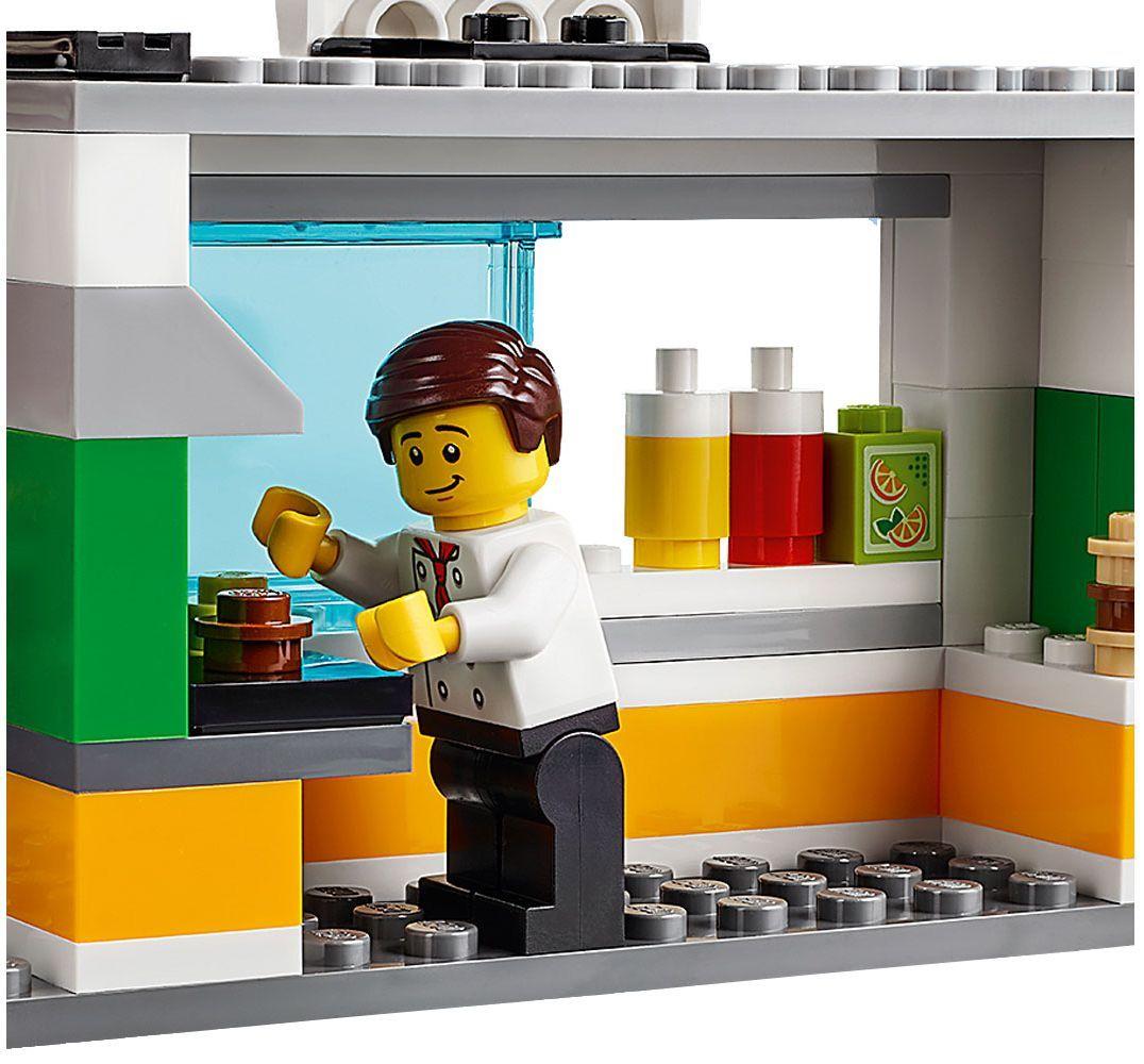 Конструктор Lego City - Спасителна акция от пожар в бургер бар (60214) - 11