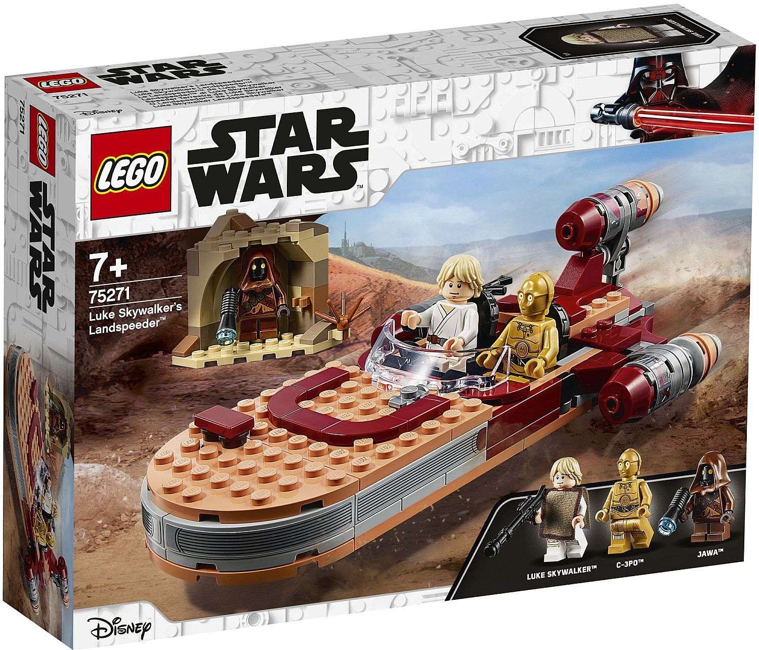 Конструктор Lego Star Wars - Luke Skywalker's Landspeeder (75271) - 1