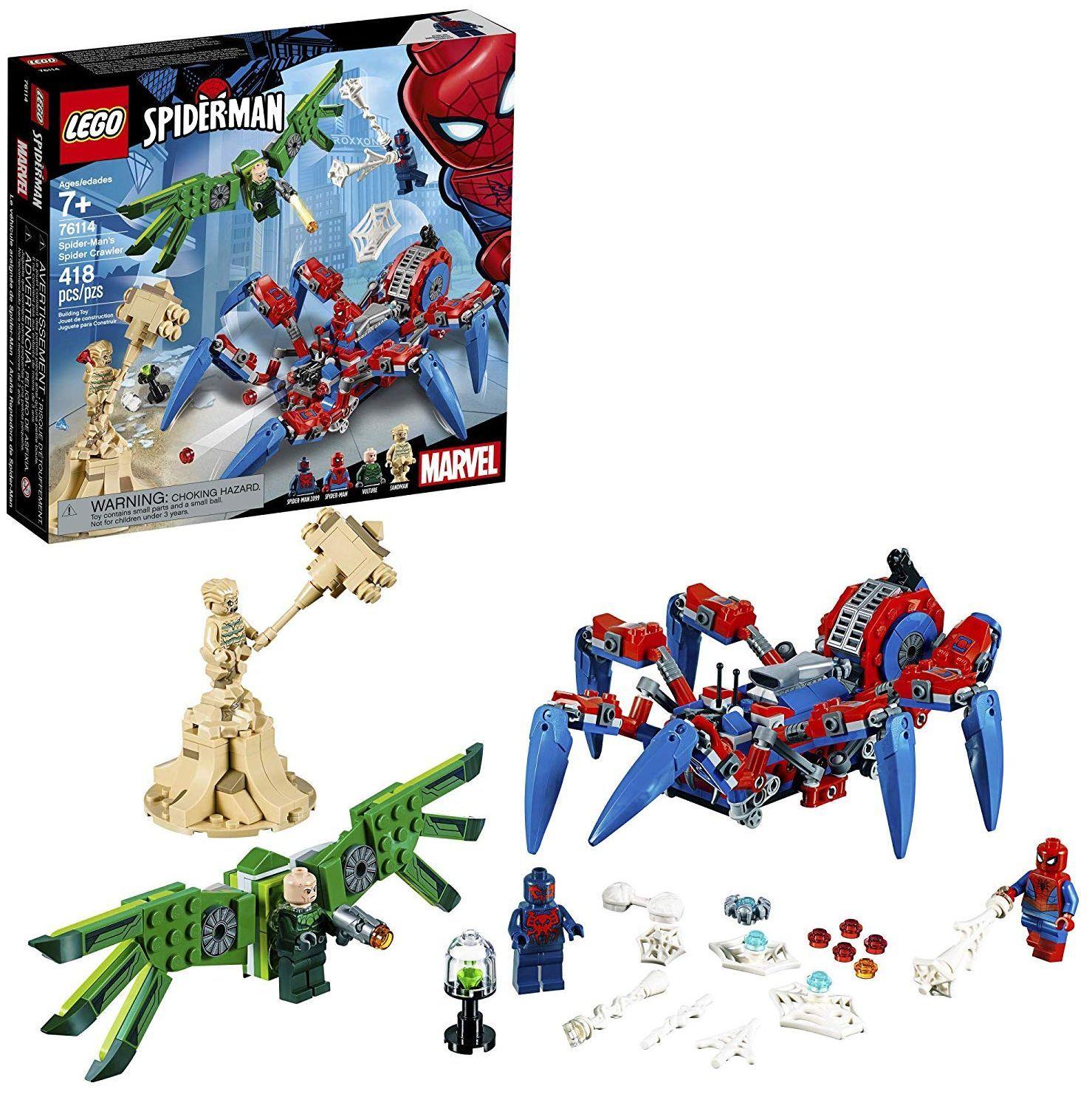 Конструктор Lego Marvel Super Heroes - Машината на Spider-Man (76114) - 1