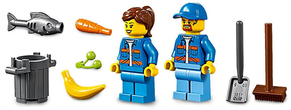 Конструктор Lego City - Боклукчийски камион (60220) - 11