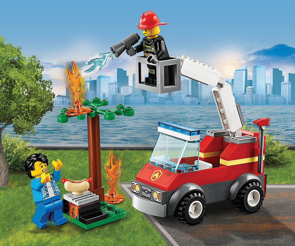 Конструктор Lego City - Изгарящо барбекю (60212) - 7