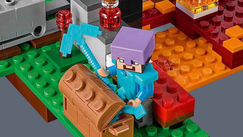 Конструктор Lego Minecraft - Портал към Ада (21143) - 4