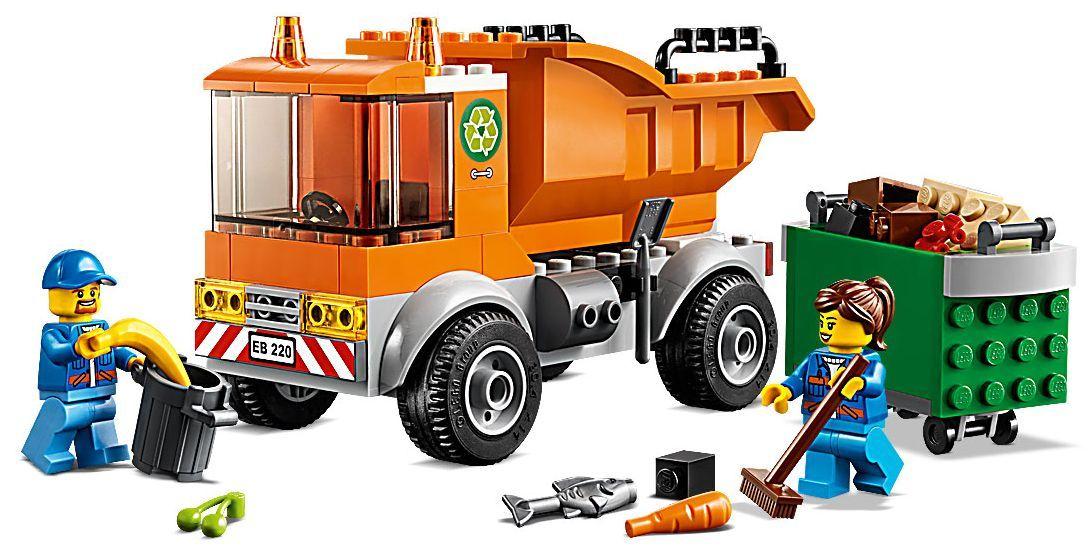 Конструктор Lego City - Боклукчийски камион (60220) - 5
