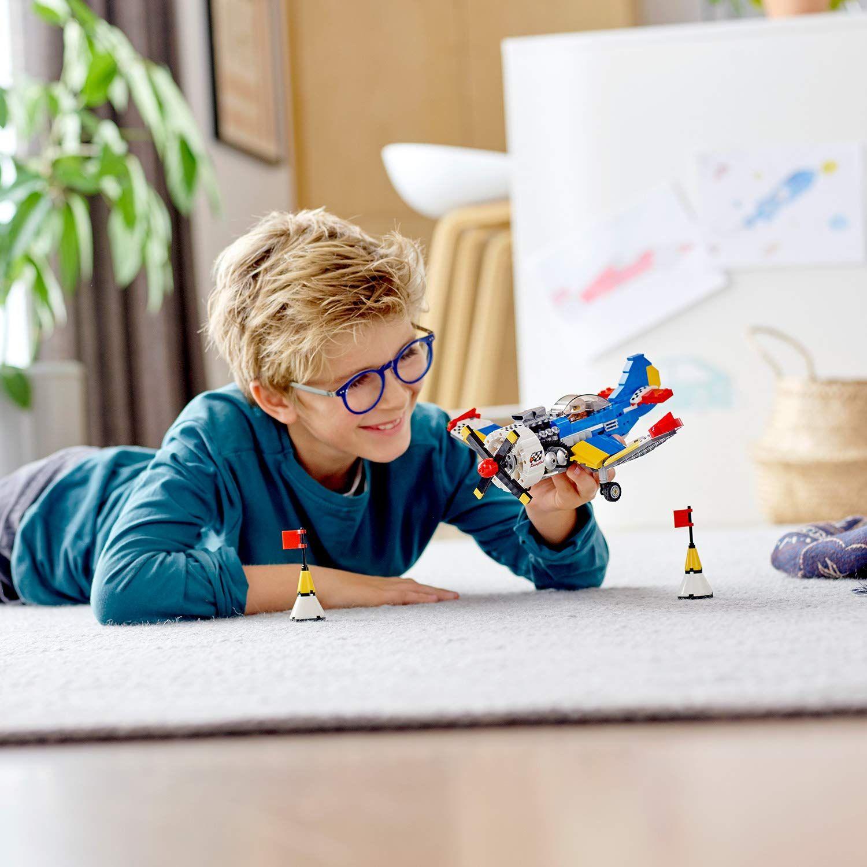 Конструктор 3 в 1 Lego Creator - Състезателен самолет (31094) - 8