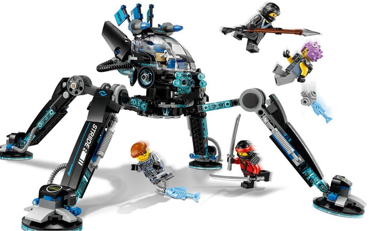 Конструктор Lego Ninjago - Водомерка (70611) - 7