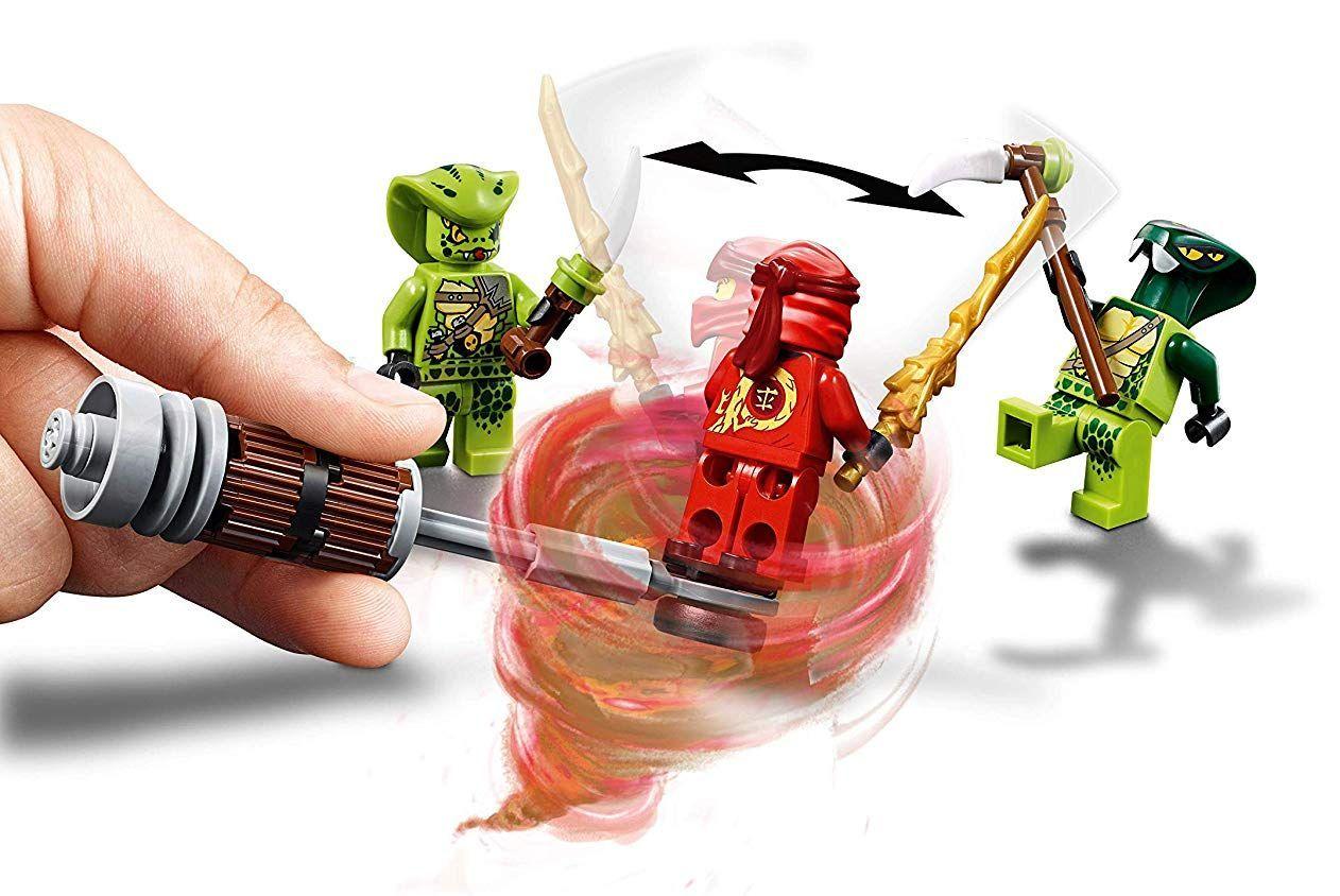 Конструктор Lego Ninjago - Мотоциклетът на Kai и снегомобилът на Zane (70667) - 10